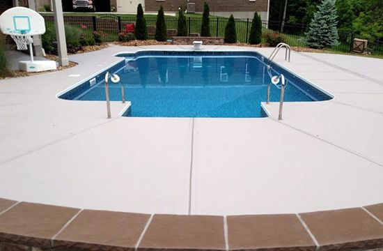 Concrete Pool Deck Remodeling