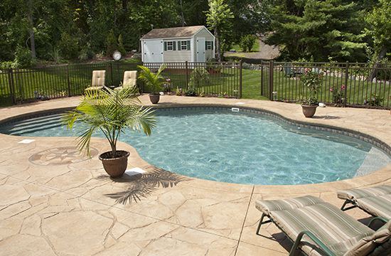 Concrete Pool Decking Maintenance