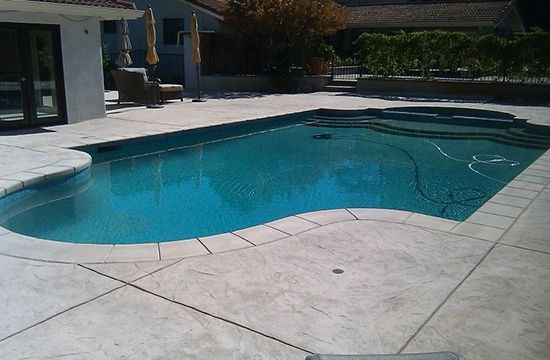 Pool Deck Concrete Resurfacing