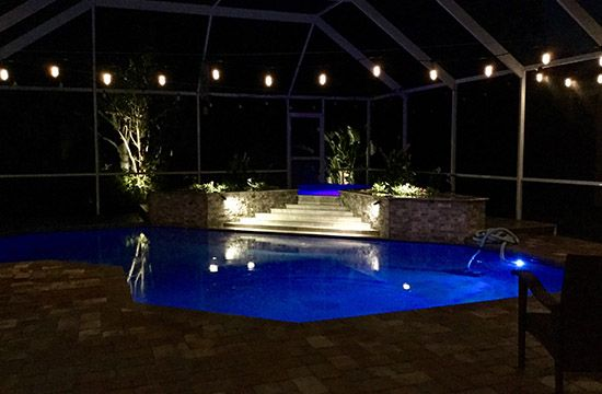 Pool Lights Installation Services