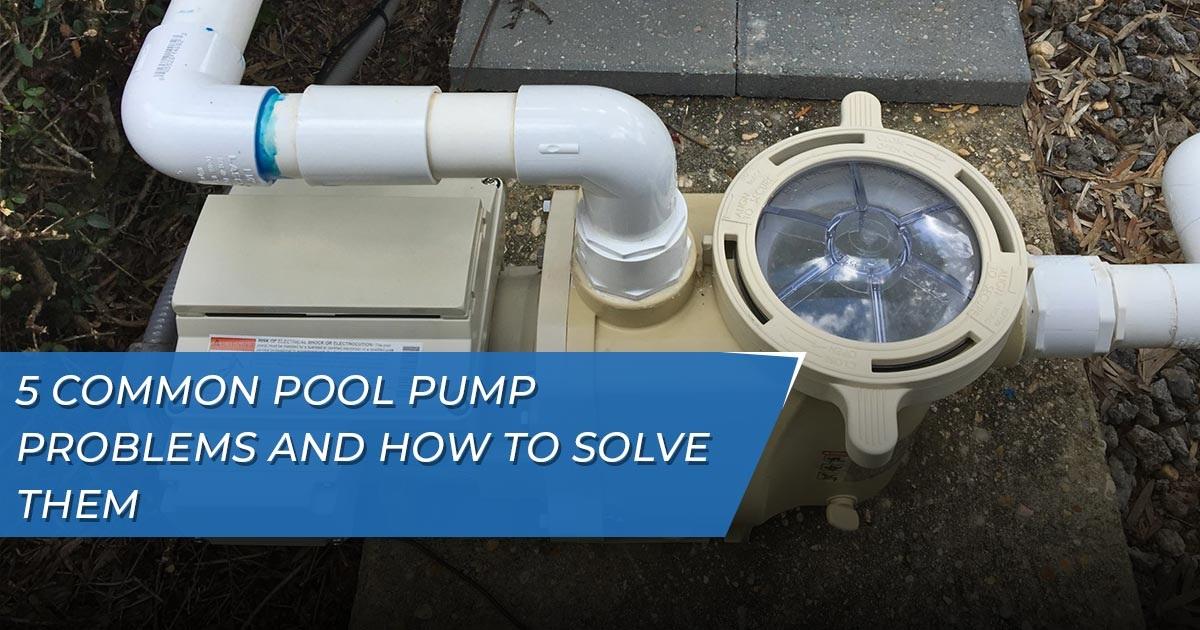 Pool Pump Problems Lutz Florida