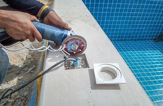 Pool Water Feature Repairs
