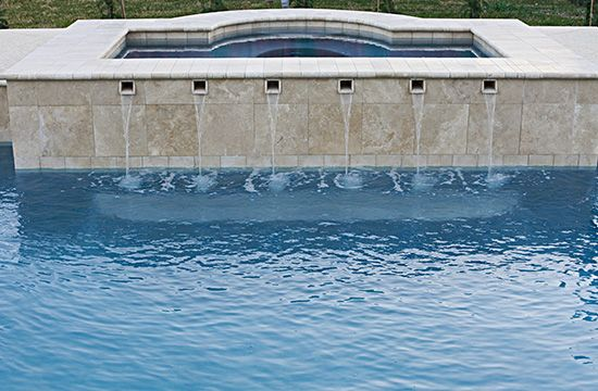 Pool Water Features Remodeling