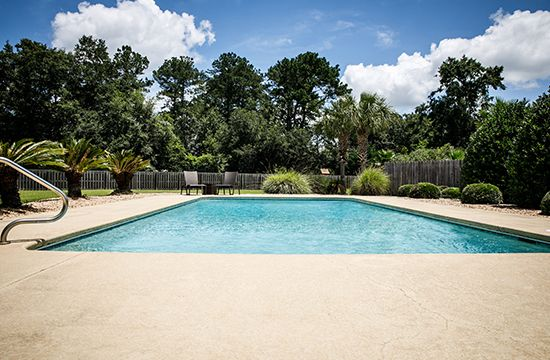 Resurfacing Concrete Pool Deck