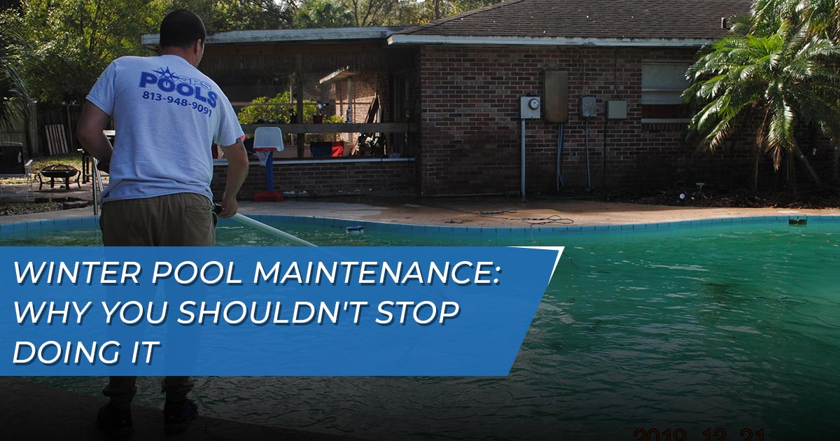 Winter pool maintenance Lutz and Land O'Lakes